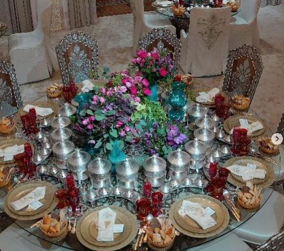 b1677853 0255 4427 9f0c 23b56f1f1ba6 - لمسات تراثية في حفل زفاف الأميرة حصة بنت سلمان؟- فيديو وصور