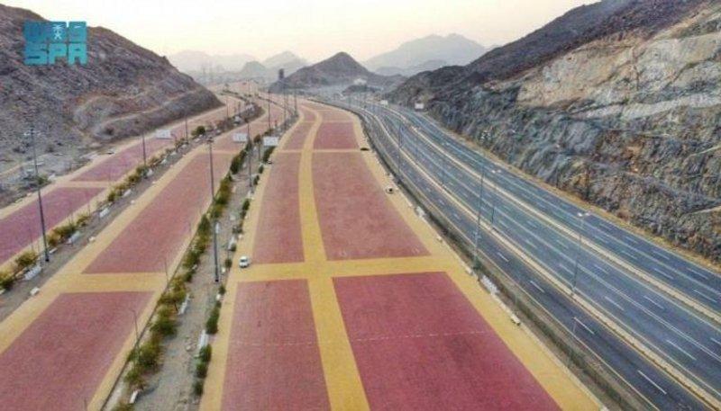 60f5b60b4e5f8 - أحد أطول طرق المشاة في العالم.. تعرّف على إنجاز سعودي في المشاعر المقدسة