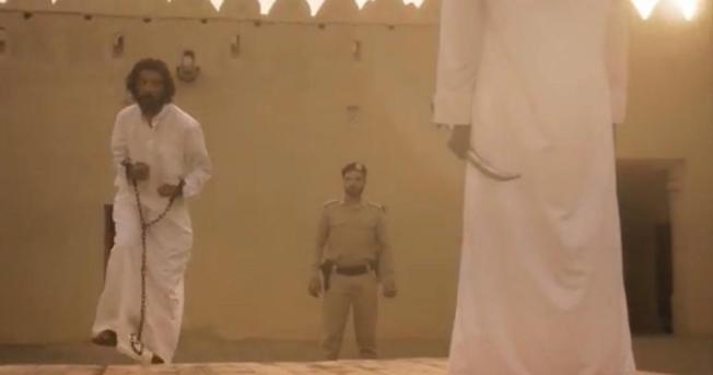 22 - شاهد لقطات مثيرة من حلقة رشاش الأخيرة ولحظة تنفيذ حد الحرابة بضرب عنقه بالسيف