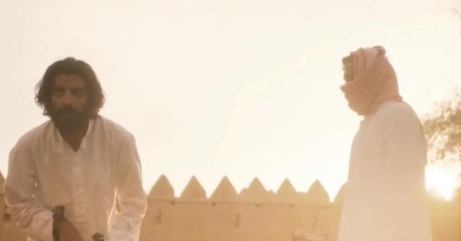 33 - شاهد لقطات مثيرة من حلقة رشاش الأخيرة ولحظة تنفيذ حد الحرابة بضرب عنقه بالسيف