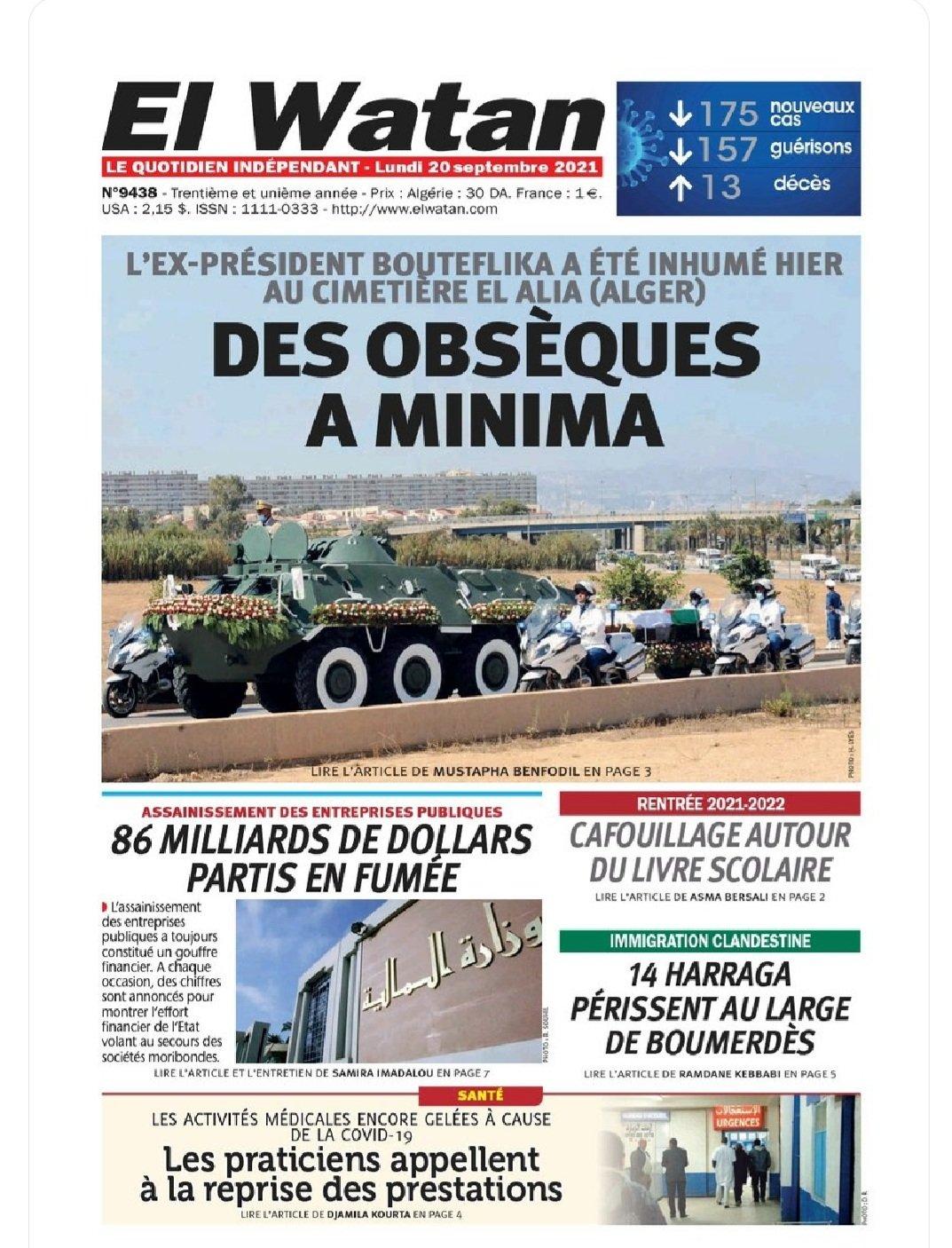 E uy21RXIAU277o - الجزائر.. جدل واسع بعد حذف جريدة مئذنة المسجد الأعظم من صورة غلافها