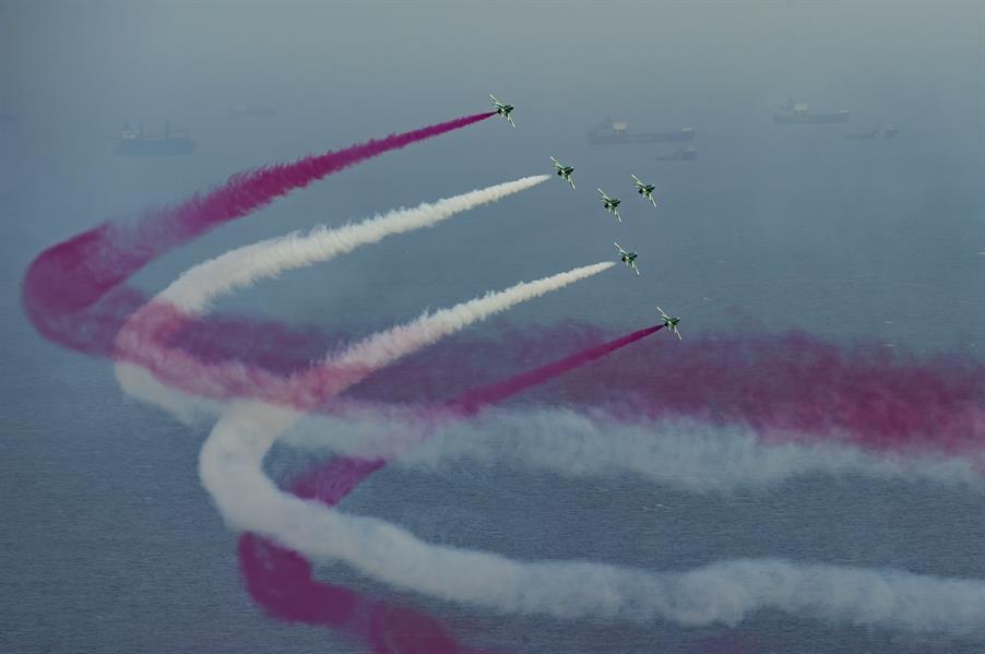 d9aab446 7102 4173 b984 5fded27f1ac3 - انطلاق عروض صقور السعودية بمناسبة اليوم الوطني في جدة