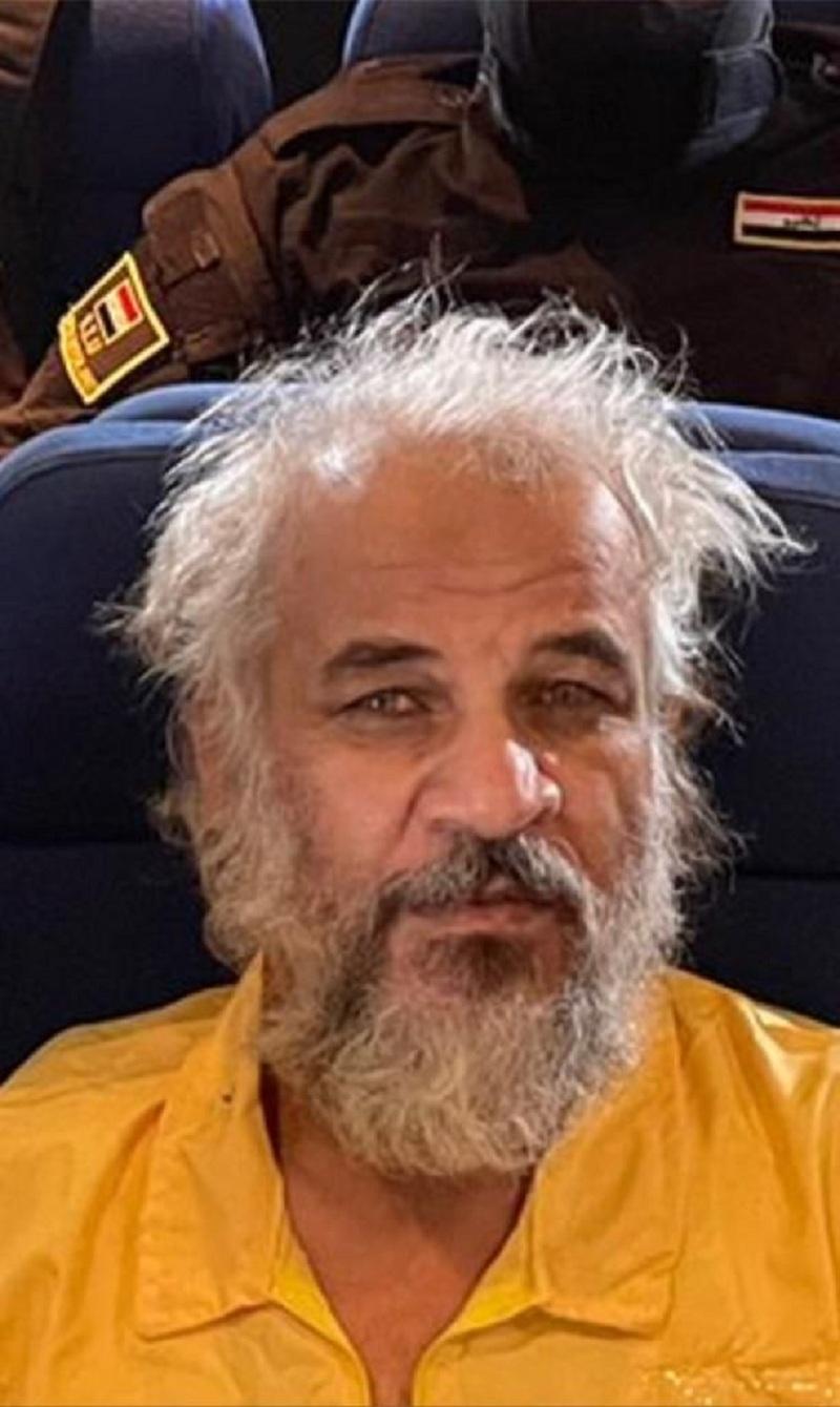 4356 23 - شاهد لحظة القبض على نائب أبو بكر البغدادي بالعراق