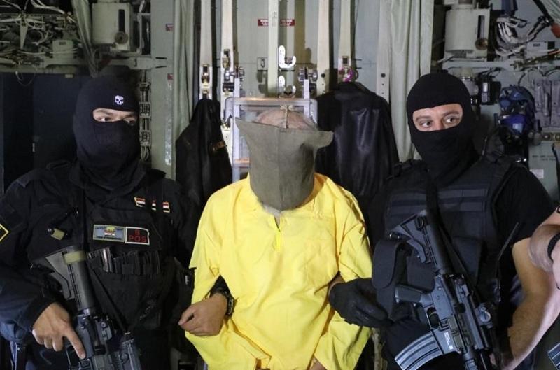 4578 38 - شاهد لحظة القبض على نائب أبو بكر البغدادي بالعراق