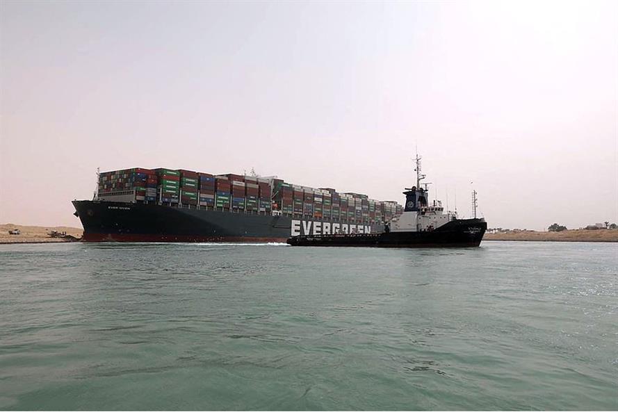 58814ea7 57bb 4928 b1a1 c8f931839107 - السفينة الجانحة في قناة السويس تسبب ضرراً كبيراً للاقتصاد العالمي